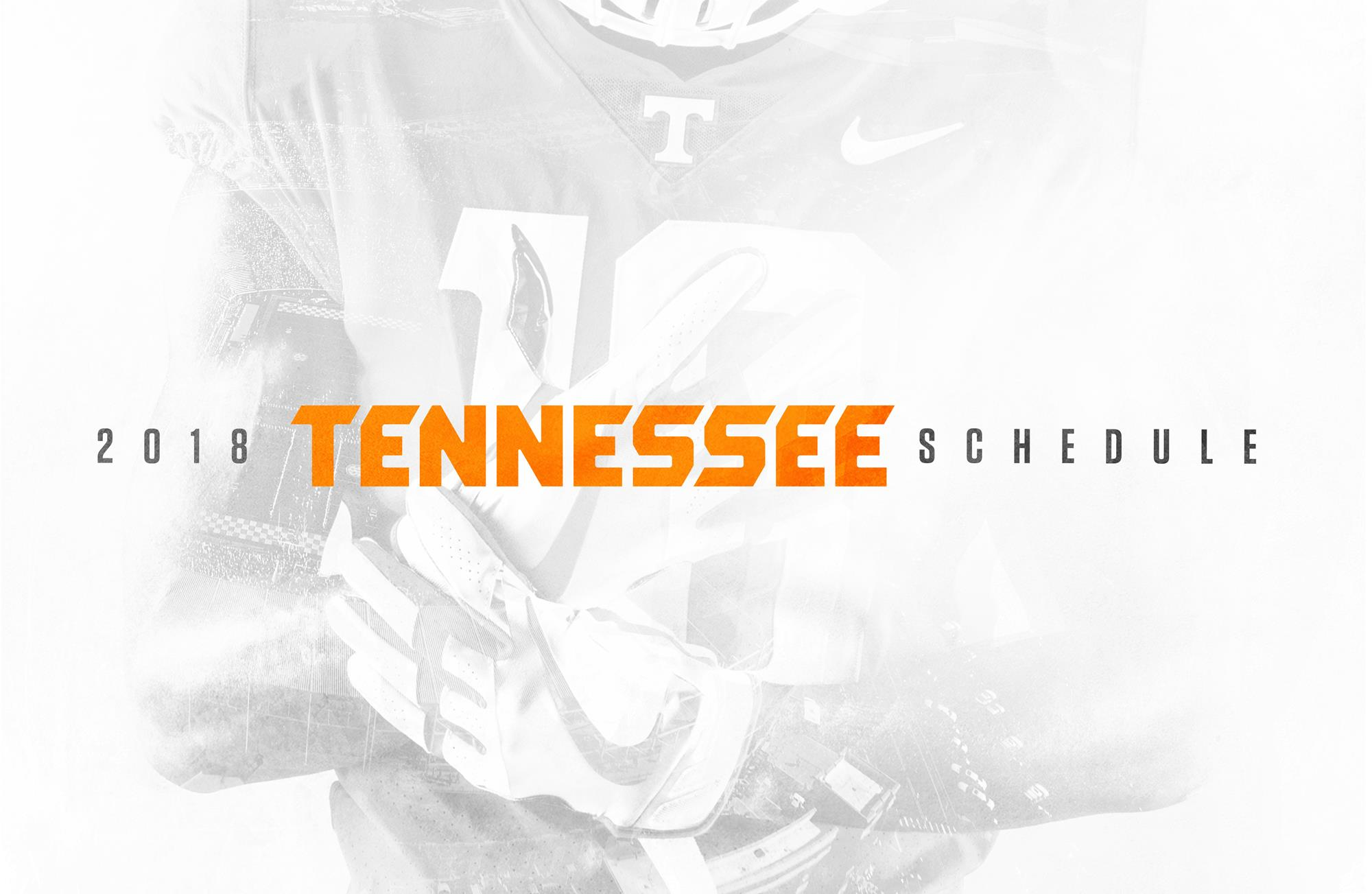 tennessee football announces 2017 schedule university of